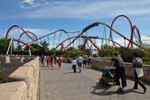 PortAventura's landmark roller coaster