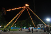 Kaeson fun fair Pyongyang just reopened this year