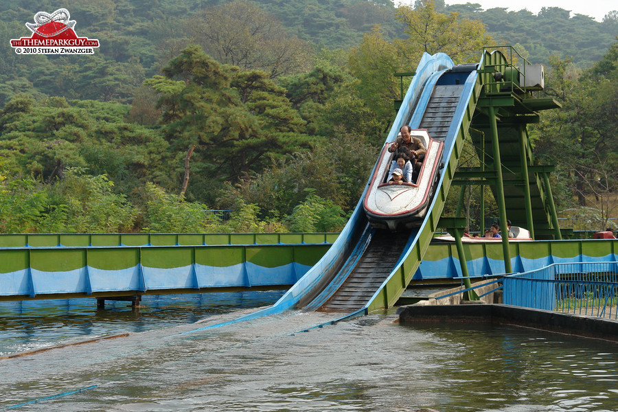 Pyongyang Fun Fairs Photos By The Theme Park Guy