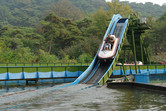 North Korean flume ride
