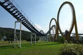 North Korea's biggest roller coaster