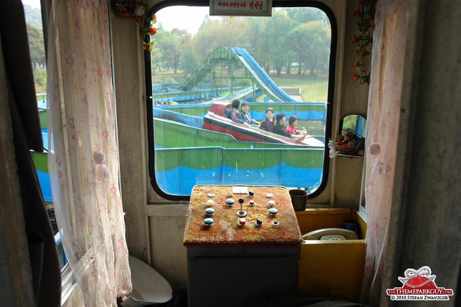 The operator's cabin