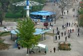 Air Koryo-themed carousels