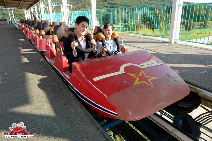 Communist coaster