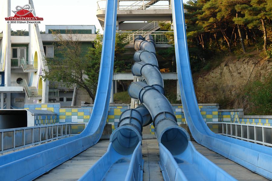 Pyongyang water slides