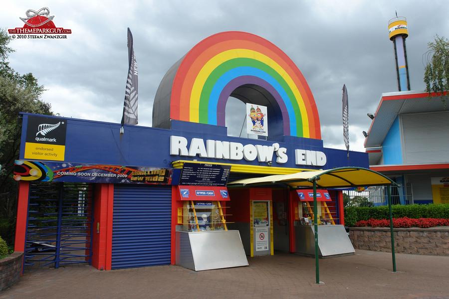Rainbows End Car Park