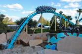 Kraken coaster in action