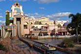 Journey to Atlantis water ride