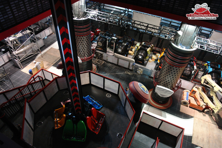Sega Republic Dubai has two floors
