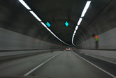 Eastwards from Seoul, through tunnels