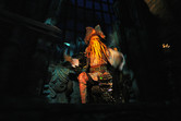 Great animatronics on the Pirates ride