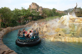Roaring Rapids river rafting ride