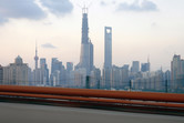 Shanghai Pudong skyline as of September 2013