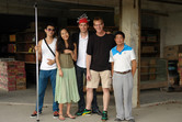 A big thank you to Margot, Drew and my Chinese friends!