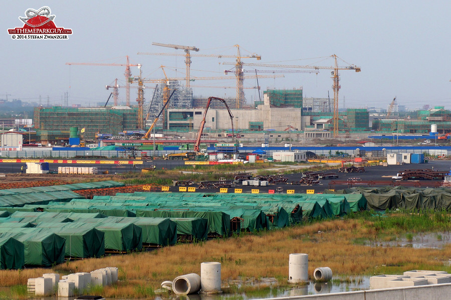 Fukushima decommissioning? No, it's Shanghai Disneyland in the making!