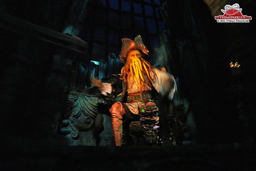 Great animatronics on the Pirates ride
