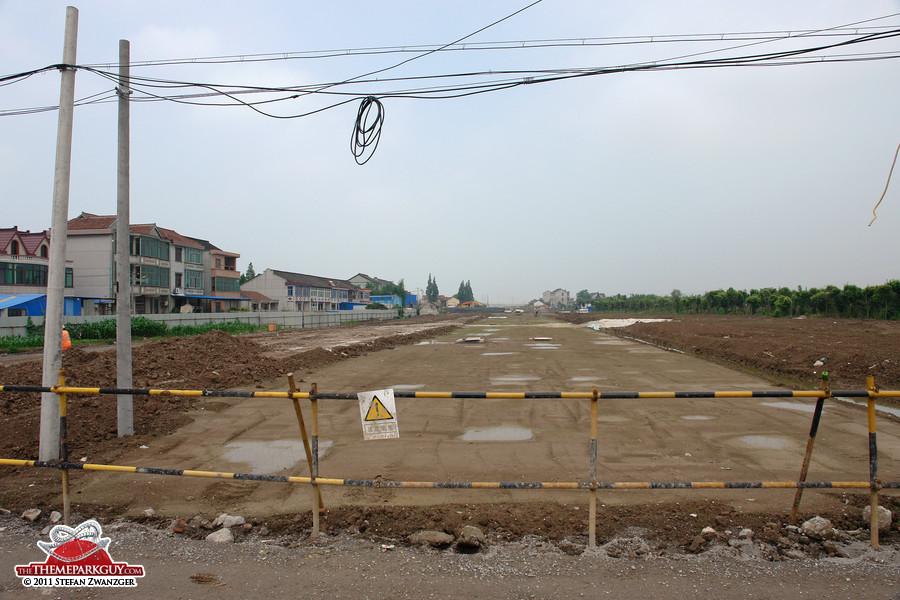 Future access roads