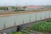Shanghai Shendi Group / Disney site office behind the moat