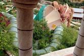 Dragon funnel slide