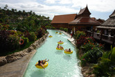 Thai-themed lazy river