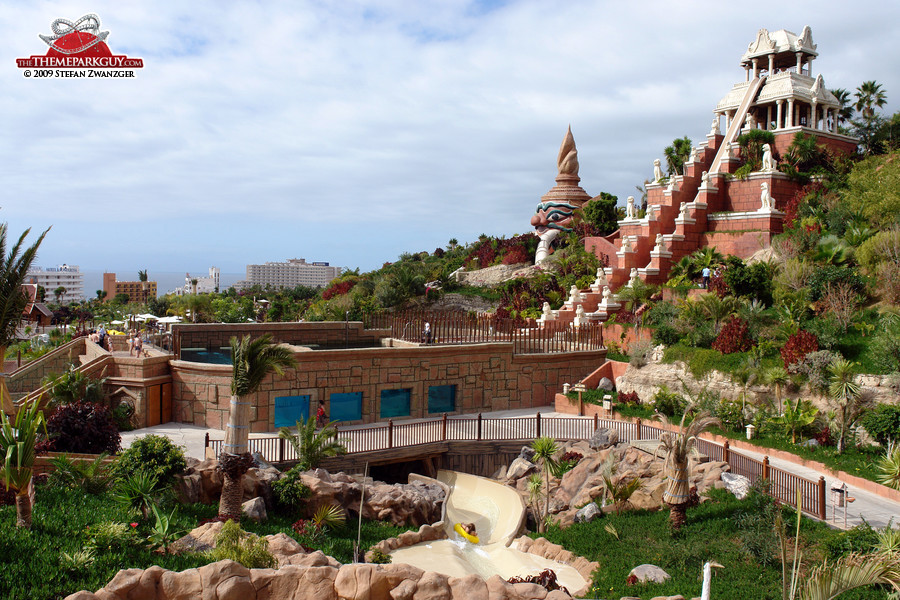 Siam Park Tenerife theming