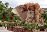 Siam Park's signature funnel slide Dragon