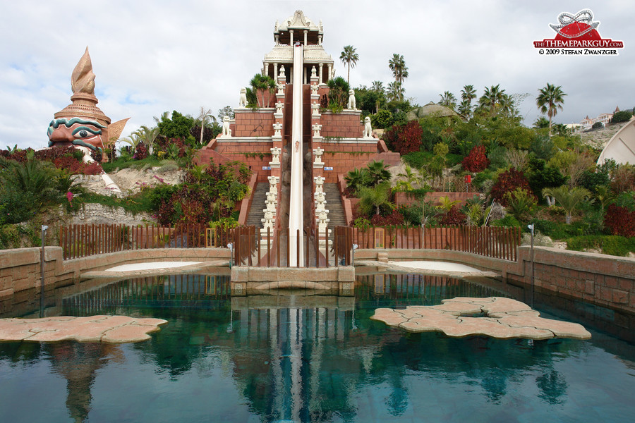 Siam Park's steepest and fastest slide