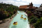 Thai-themed lazy river