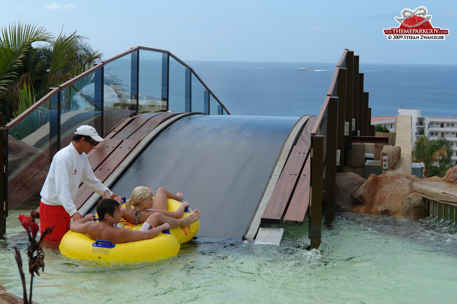 The Sea slide? It looks like the direct way to Morocco