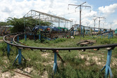 The coaster has been shut down by authorities since