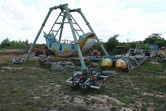 Siem Reap's fun fair 'Happy Land' is in abysmal condition