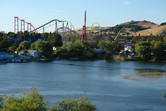 Six Flags close to San Francisco