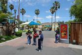 Six Flags scene