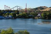 Six Flags close to San Francisco