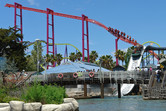 Coasters and water rides