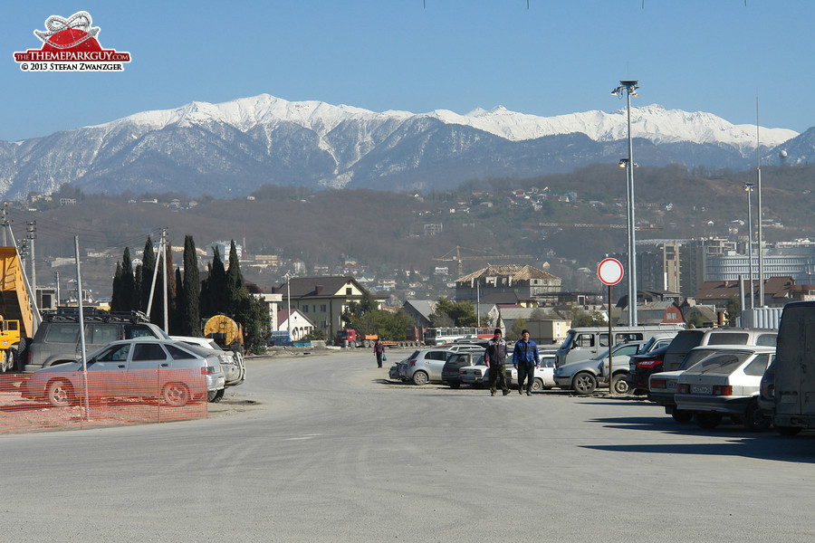 Adler, Sochi's Olympic suburb, Russia