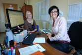 Office smiles on the Sochi-Park site