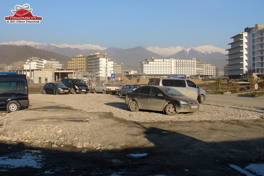 Sochi's Adler district will turn from a turtle into Godzilla within one year