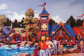 Jack Rouse-powered Sochi-Park concept art featuring Russian architecture