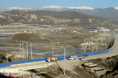 Sochi-Park site seen from the hotel roof