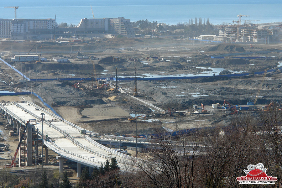 Sochi-Park site, closer look