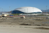 The Bolshoy Ice Dome on the Olympic site