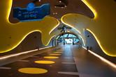 Colorful walkways