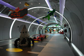 Futuristic corridors