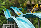 Tube water slides