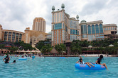 Giant Sunway Lagoon swimming pool