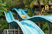 Tube water slides