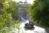 River rapids atmosphere
