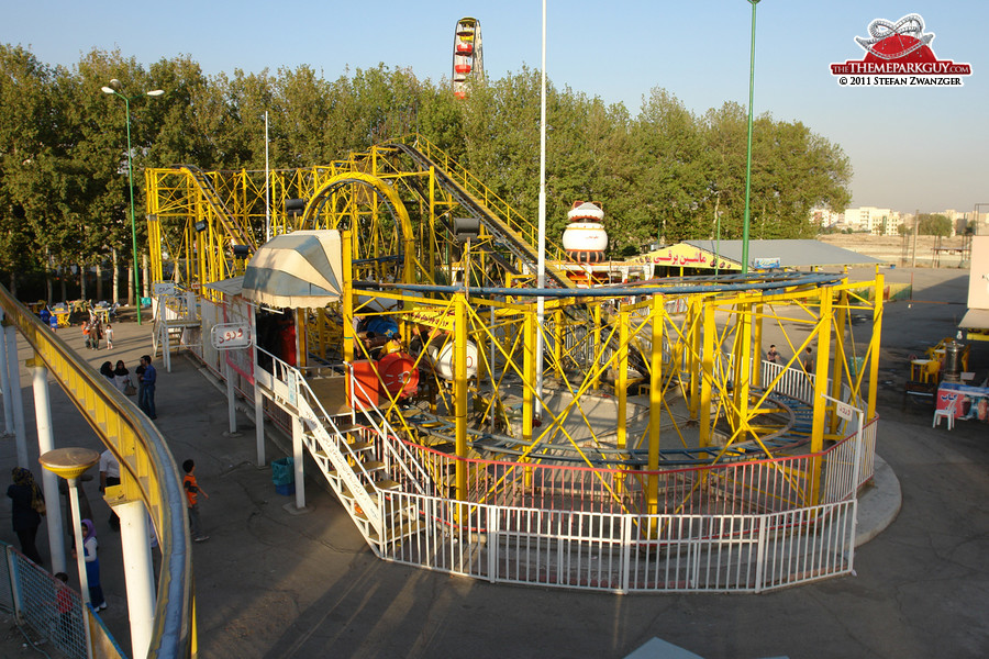 And here it is: probably the world's worst roller coaster!