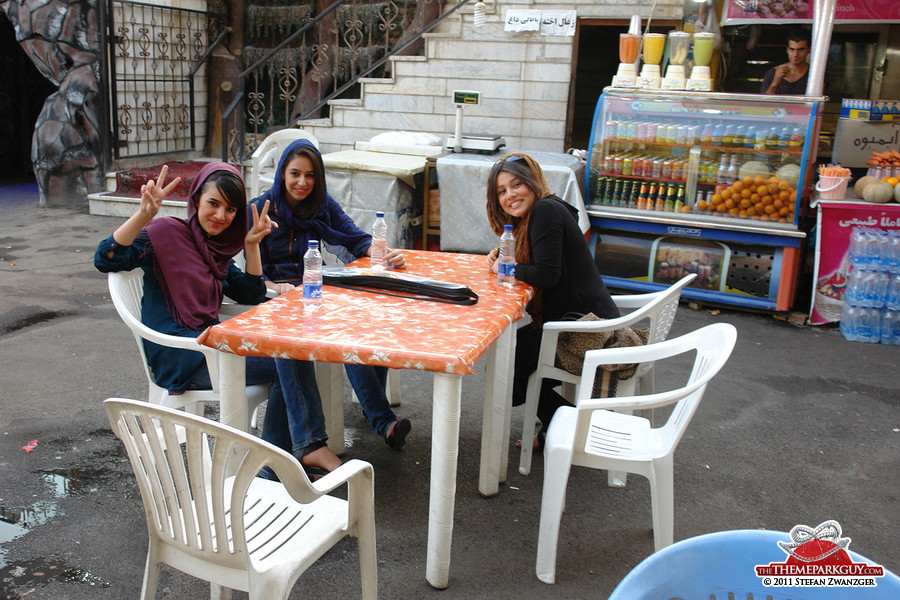 Iranian teenage girls